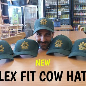 Wholly Cow Flex FIt Hats